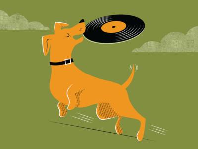 Vinyl Frisbee // WIP
