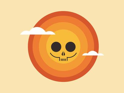 sun n' skull // poster WIP