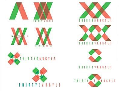 Thirty9 Argyle Logo Rebounded By Alexander Flores Dribbble