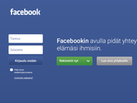 Facebook Ui Redesign Login