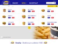Snacky menu