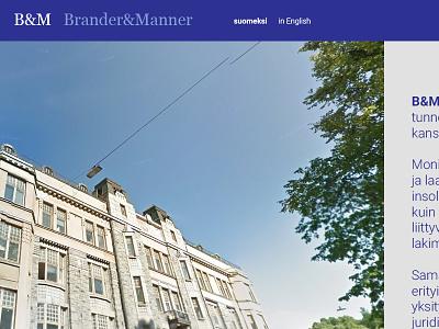 Brander&Manner pitch pitch design web