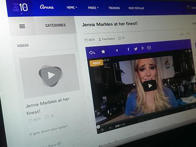 Content Sharing Theme purple wordpress memes theme awesome content sharing user content