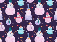 New Year Pattern