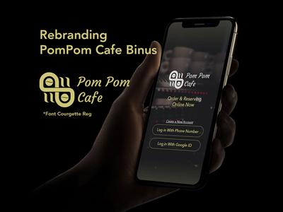 Rebranding Logo Cafe
