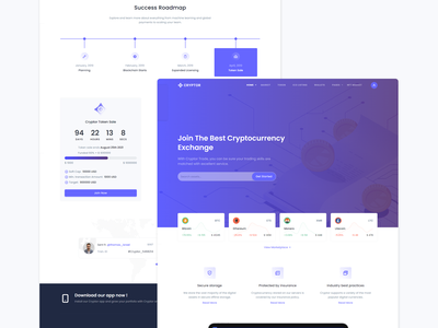 Cryptor - Cryptocurrency crypto token nft market nft collections sell crypto buy crypto sell buy nft software agency business bootstrap marketing branding design cryptocurrency