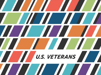 Ribbon Pattern pattern stolen valor honor u.s. veterans ribbon military