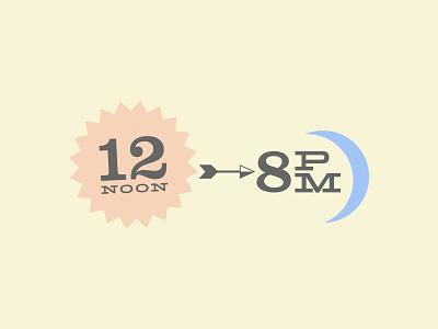 12noon typography flyer clarendon hellenic wide