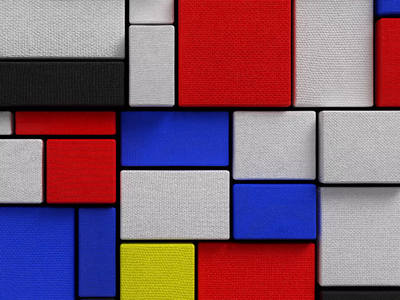 Stretching Canvas render redshift motion design motion graphics mograph cinema4d 3d animation loop mondrian