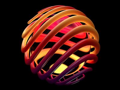 Endless Oscillation motion graphics motion design loop render redshift mograph cinema4d 3d animation