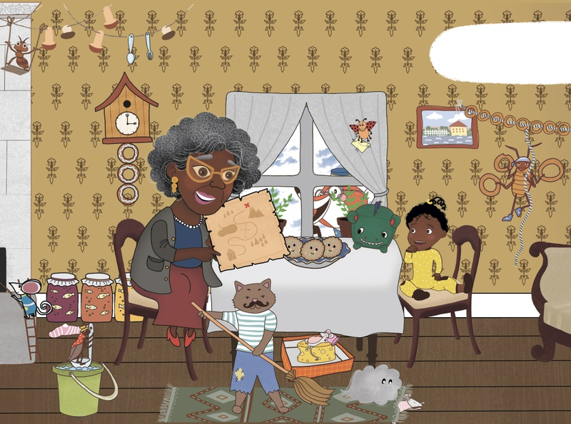 Aya and the Treasure Hunt character детскаяиллюстрация детская childrens illustration children книга иллюстрация childrens book character design illustration