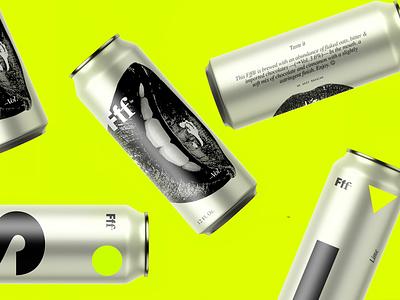 Fff™ Brewing swiss packaging brand minimalism identity minimal branding design logo typography