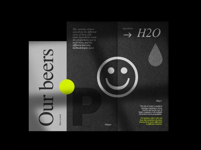 Fff™ Brewing vector stationery brand packaging minimalism identity branding design logo typography