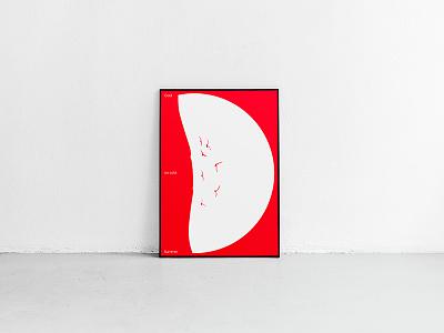 Coca-Cola Poster diseño design simple pure typo swiss type helvetica poster typography