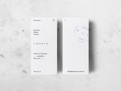 Tienda Ciervo stationery typography minimalism scandinavian design minimal tags logo branding brand identity