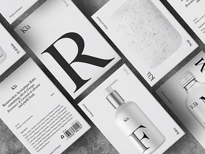 Kla – Branding black type brand stationery diseño logo typography design identity packaging branding