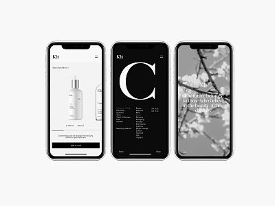 Kla – Branding poster geometric color helvetica swiss type ios stationery argentina diseño packaging simple minimalism brand design logo minimal identity branding typography