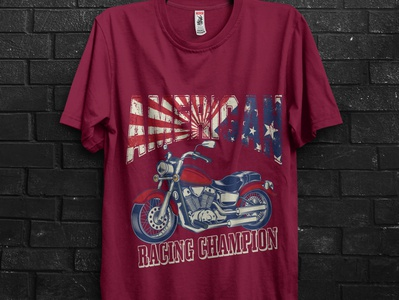 American Racing champion t shirt