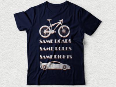 Bicycle tshirt design