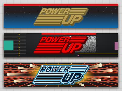 Powerup Headplates NES, SNES, GB powerup gameboy nes snes boxes