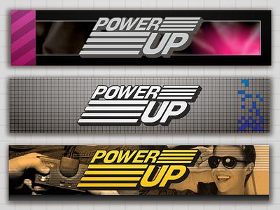 Powerup Headplate GG, Master System, TurboGrafx powerup gamegear mastersystem turbografx