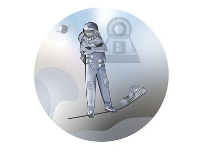kosmo robots boy cosmo vector web illustration