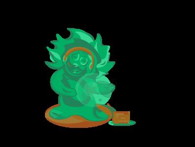 Green_creature_with_radio