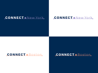 Skilljar - Connectx Logo logo mark customer event branding event logodesign logo design logo vector branding flat simple illustration design