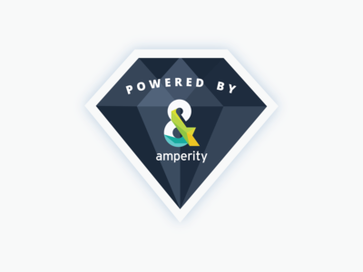 Amperity - Powered By Sticker