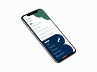 Portfolio homepage | Mobile