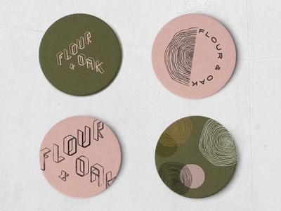 Flour & Oak - Coasters