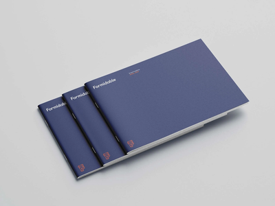 Introducing the New Formidable Brand formidable design agency brand design firm design system brand system brandbook brand book consultancy agency typeface logo branding design