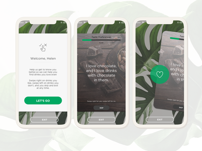 Food Service App Ideation ux ui product product design interactive design interaction design design