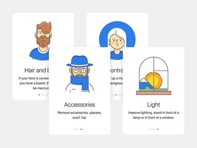 Manual illustrations ui app ios walkthrough onboarding tips