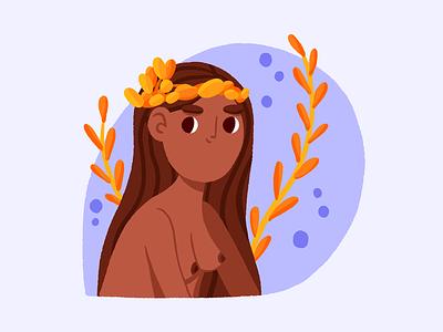 Virgo - Birthday Calendar horoscope zodiac virgo branding design ipadpro procreate illustration