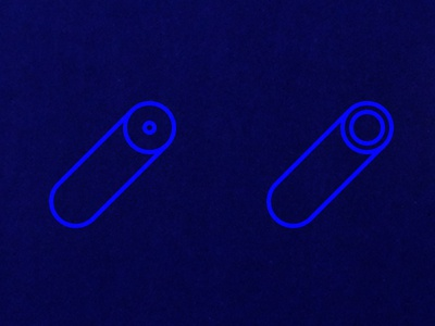 Pasta Field 1 pattern geometry oblique minimal blue