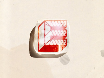 Permutation 1. typography #2 geometry oblique minimal color poster shape