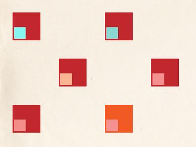 urban 2 geometry oblique minimal color poster shape