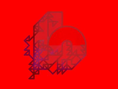 Letra H - abcdario geometry oblique minimal color poster shape abcdario lettering typography