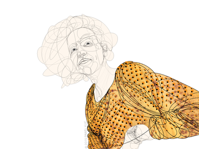 Work in progress: apparel 1, vector sketch #2 illustration sketch wip