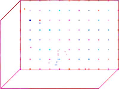 Permutation 2. bkgnd #1 shape poster color minimal oblique geometry