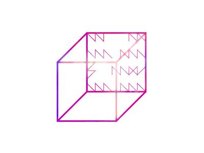 Permutation 2. button #1 shape poster color minimal oblique geometry