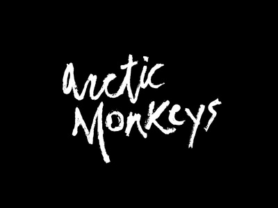 Arctic Monkeys Lettering