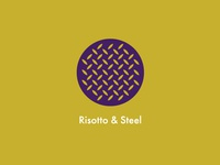 Logo for Risotto & Steel