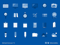Icon Collection (Flat Blueprint)