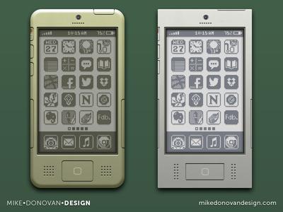 iPhone Throwback Designs