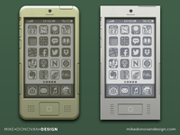 iPhone Throwback Designs