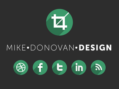 Mike Donovan Design Logo (and Website)
