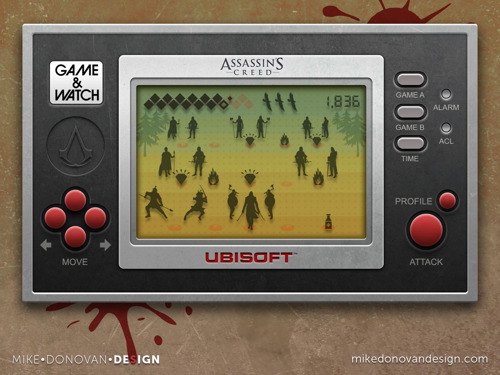 Mikedonovandesign game assassins creed
