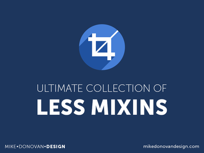 Ultimate Collection of Less Mixins Freebie code less css mixins snippet css3 freebie download